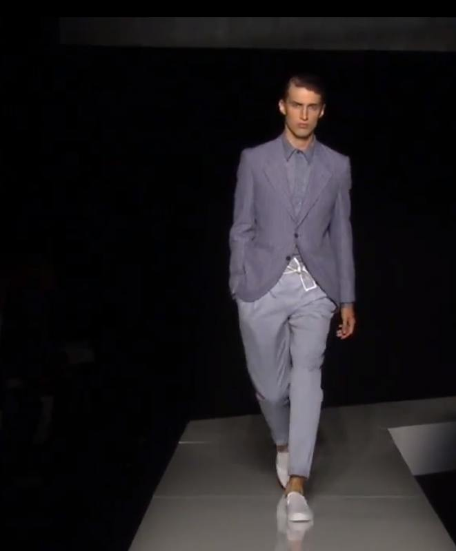 JOSEPH ABBOUD spring 2013 NYFW on FashionDailyMag