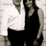 designer CARMEN MARC VALVO and HERA at NYFW on FashionDailyMag