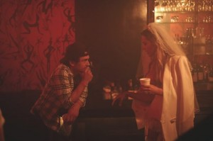 JAMES FRANCO and petra nemcova at le baron for stuart weitzman