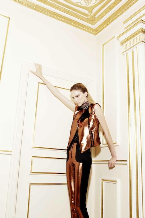 CAMILLA MARC shiny pants cruise 2013 | FashionDailyMag