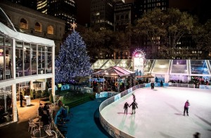 citipond tree lighting 2012 bryant park on FashionDailyMag