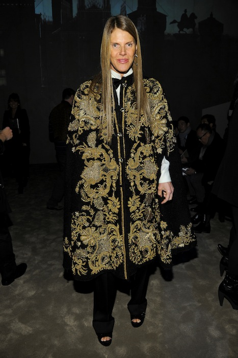 ANNA DELLO RUSSO winter 2013 menswear show in milan