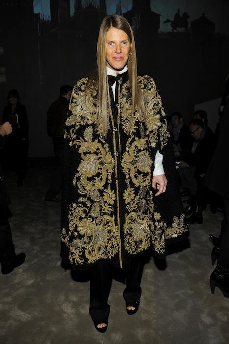 ANNA DELLO RUSSO winter 2013 menswear show in milan