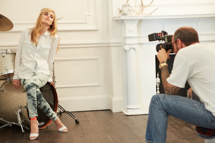 georgia may jagger 2 terry richardson for HM rock n roll | FashionDailyMag