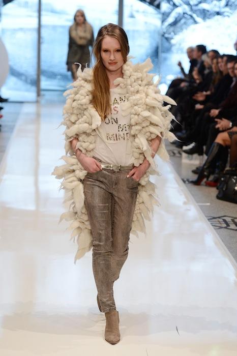 Marc Cain Show - Mercedes-Benz Fashion Week Autumn/Winter 2013/14