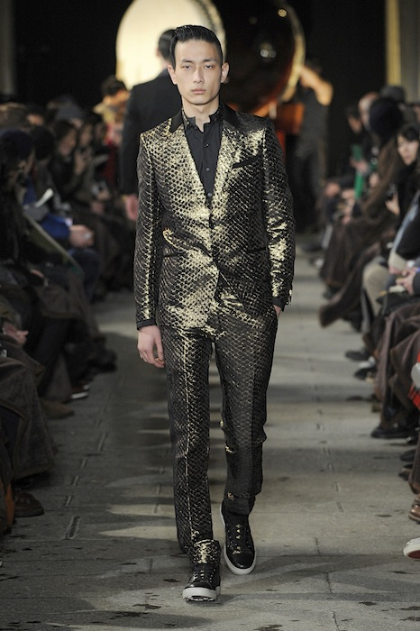 MIHARA YASUHIRO  MENSWEAR fall winter 2013_14  PARIS january_2013