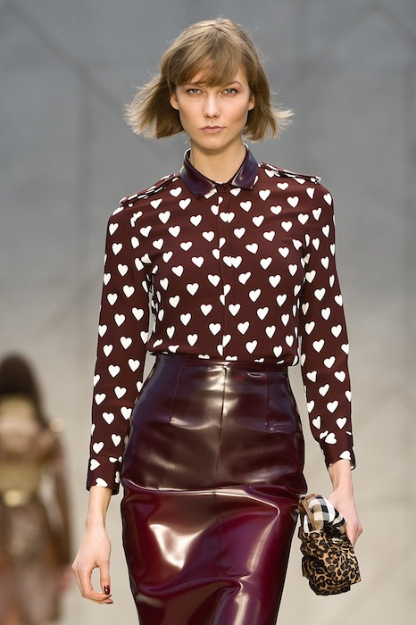 karlie kloss Burberry Prorsum Womenswear Spring Summer 2013 Collection