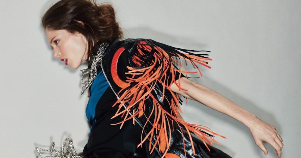 Jean Paul Gaultier talks Glamour with Coco Rocha