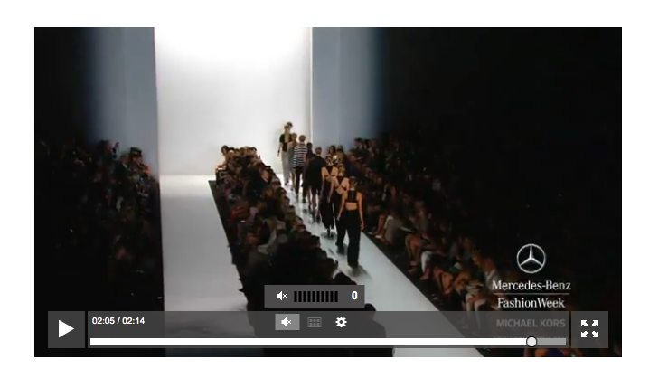 NYFW live stream fall 2013 shows at MBFW