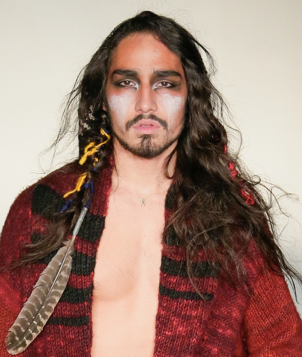 WILLY CARTIER at RAIF fall 2013 FashionDailyMag sel 1 ph randy brooke
