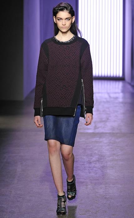 isabella at IMG walks REBECCA TAYLOR fashiondailymag selects 1