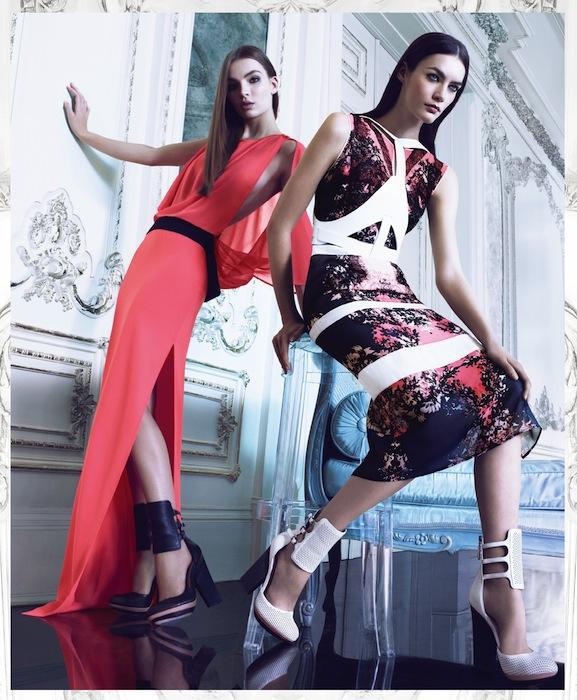 BCBG max azria spring 2013 campaign FashionDailyMag