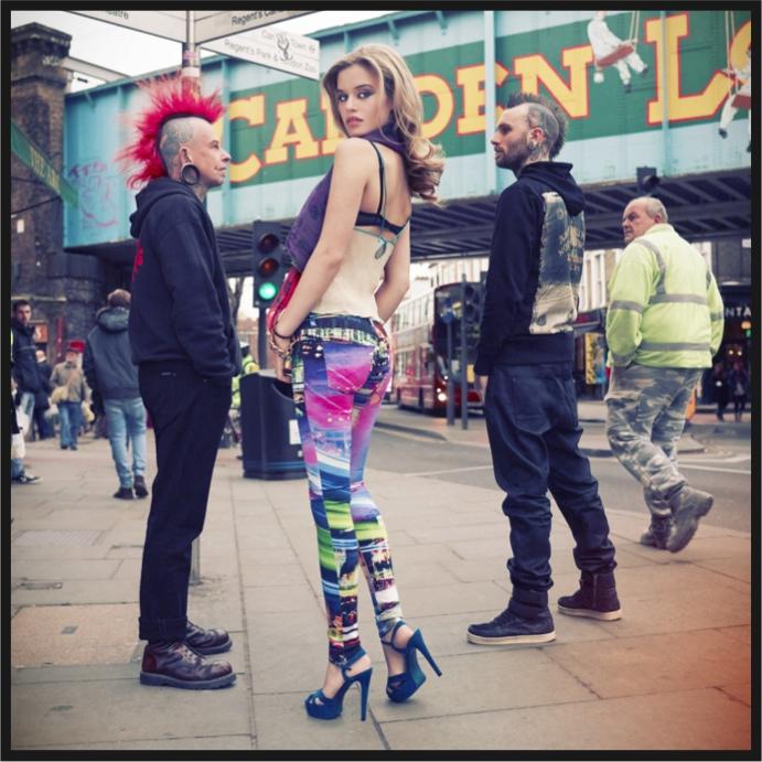 Georgia May Jagger Hudson Jeans SS13 fashiondailymag 6