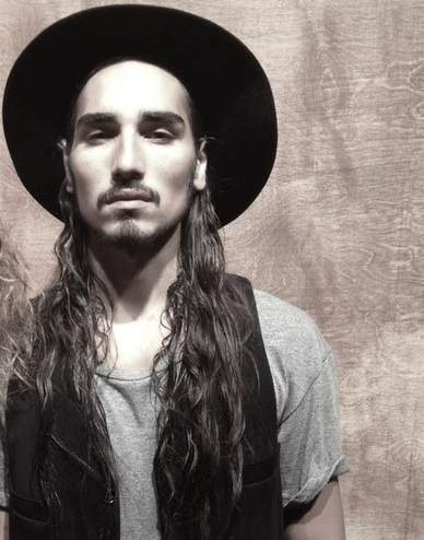 willy cartier at public school spring 2013 milk studios bw on FashionDailyMag