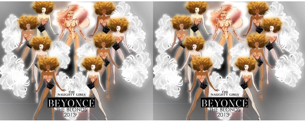 THE BLONDS dress BEYONCE for her Mrs. Carter Tour