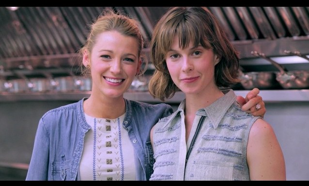 BLAKE LIVELY and Elettra Wiedemann goodness vogue | FashionDailyMag