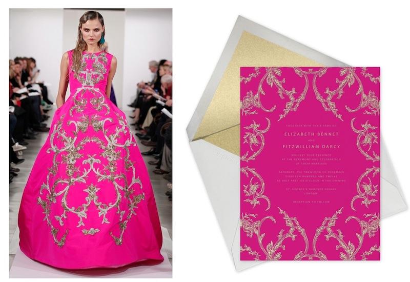 magdalena frackowiak OSCAR DE LA RENTA paperless collab   FashionDailyMag