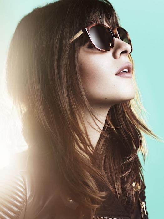 burberry eyewear sparks spring 2013 FashionDailyMag