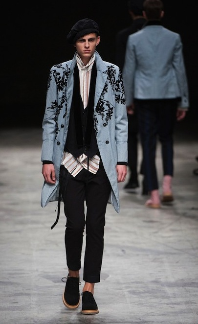 Ann Demeulemeester Spring 2014 Menswear fashiondailymag selects 12