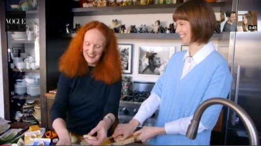 vogue COOKING with GRACE CODDINGTON and elettra
