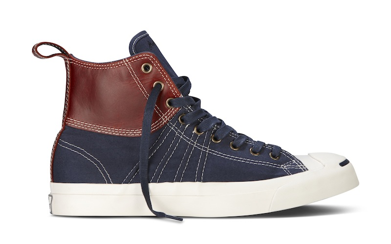 241e223635b3 Converse Jack Purcell Collection FW13 Navy Duck Boot fashiondailymag 12