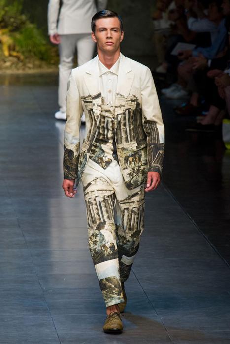DOLCE GABBANA menswear spring 2014 fashiondailymag sel 22