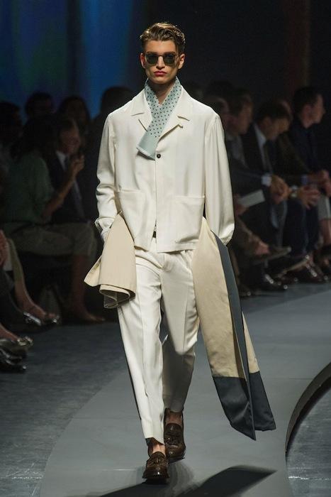 Ermenegildo Zegna Menswear Spring 2014 fashiondailymag selects 12