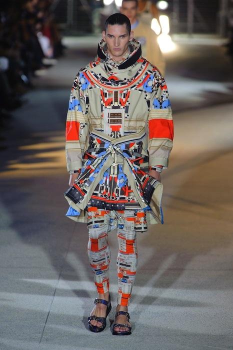 Givenchy Mens Spring 2014 fashiondailymag 1