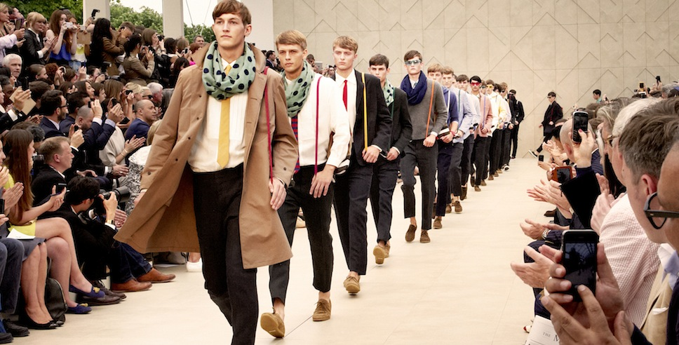 Burberry Prorsum Menswear Spring Summer 2014 Show in London | FashionDailyMag