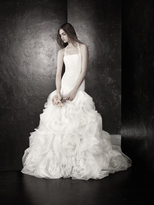 WHITE vera wang bridal | FashionDailyMag