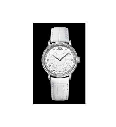 88 rue du rhone timepiece white watch
