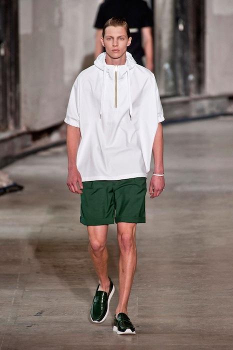 KRIS VAN ASSCHE menswear spring 2014 fashiondailymag sel 1