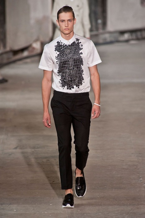 KRIS VAN ASSCHE menswear spring 2014 fashiondailymag sel 5
