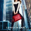 LONGCHAMP fall campaign featuring Coco Rocha