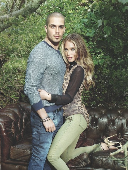 Max George with Hannah Davis BUFFALO FashionDailyMag