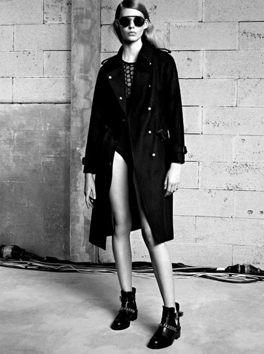 SANDRO lookbook fashiondailymag sel 1