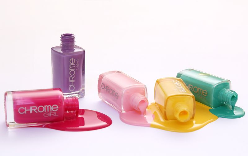 chrome girl better drip pastel nail polish FashionDailyMag