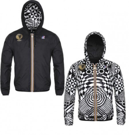 K-Way and Versus Versace jacket