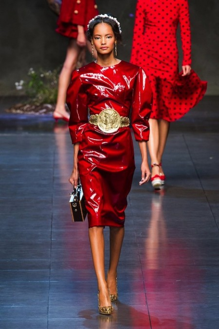 DOLCE GABBANA Spring 2014 fashiondailymag sel 73