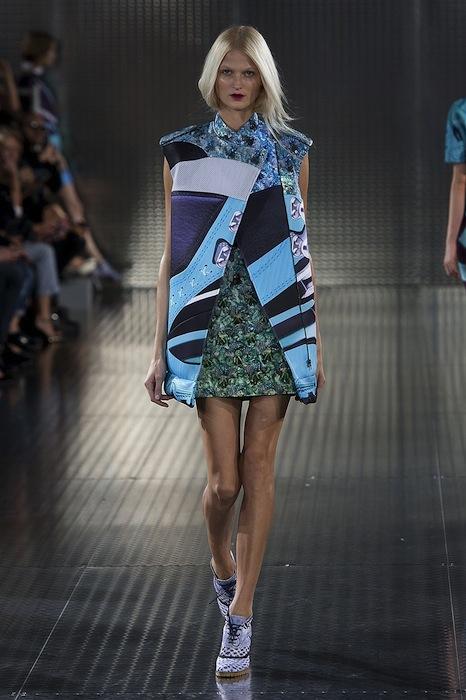 MARY KATRANTZOU spring 2014 LFW fashiondailymag sel 14