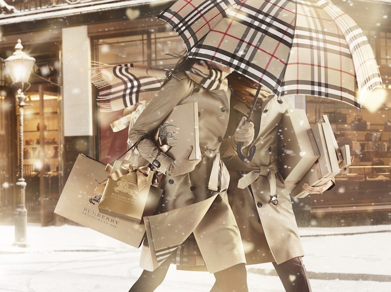 BURBERRY WITH LOVE Festive 2013 fashiondailymag sel 2