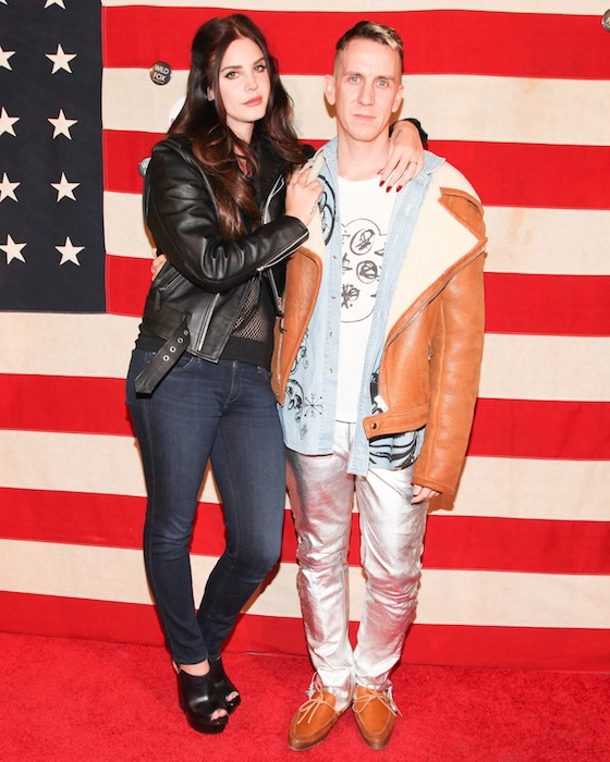 Lana Del Rey with jeremy scott NYLON on FashionDailyMag