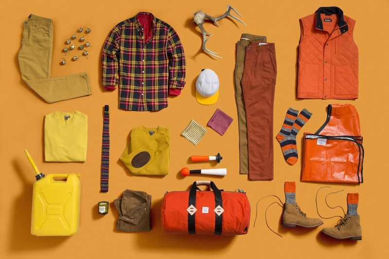 bonobos orange mens gift guide FashionDailyMag