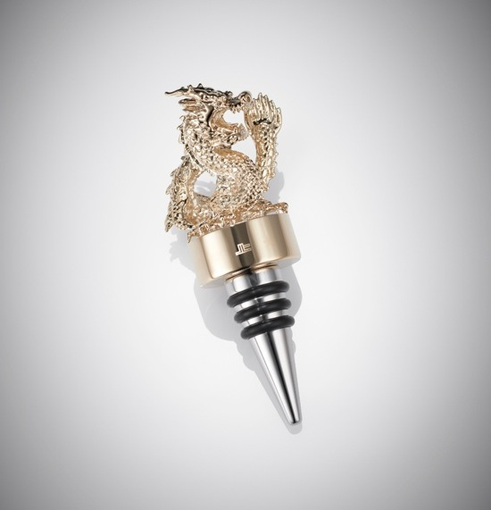 shanghai tang dragon wine stopper | FashionDailyMag gifts for guys 2013