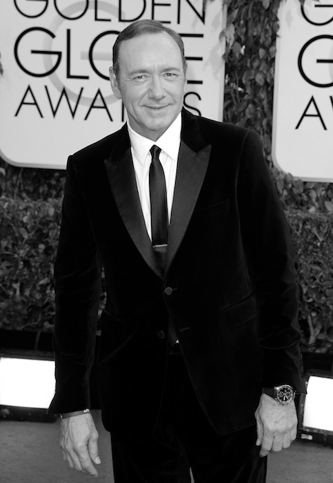 Kevin Spacey 71st Annual Golden Globe Awards