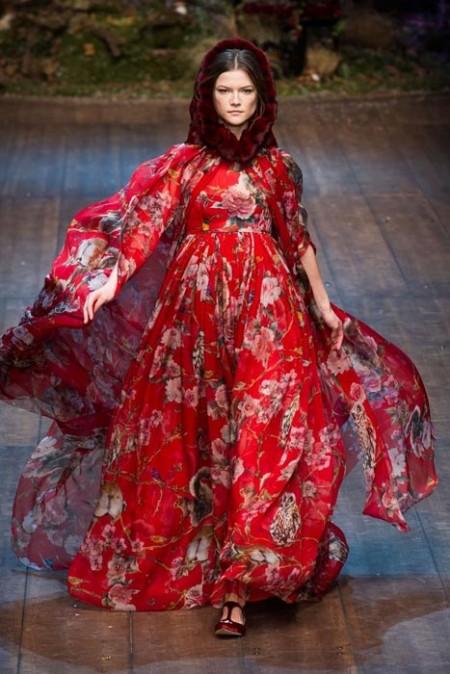 Dolce e Gabanna fall 2014 FashionDailyMag sel 24