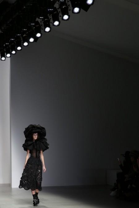 John Rocha AW14 Darren Gerrish | British Fashion Council | fashiondailymag