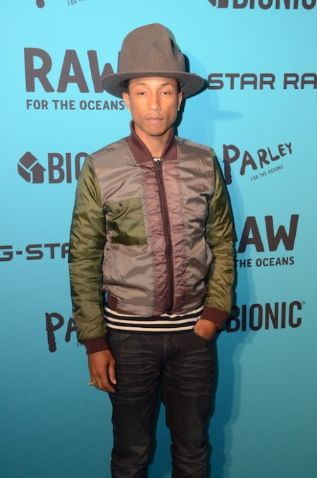 PHARRELL WILLIAMS GSTAR RAW NYFW fashiondailymag sel 3