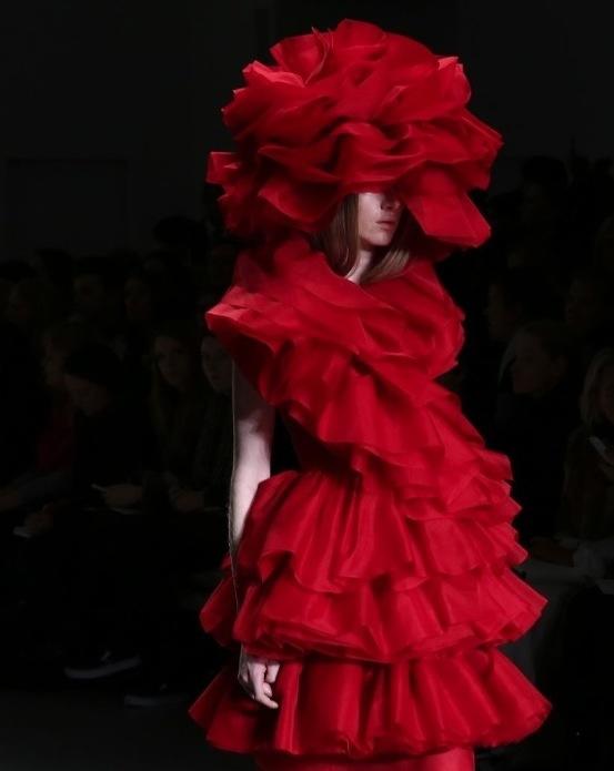 john rocha darren gerrish LFW fall 2014 FashionDailyMag