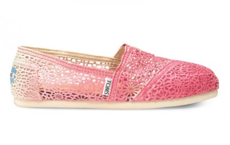 toms pink shoes for vday guide